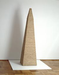 MCA – Collection: Jackie Ferrara, Truncated Pyramid II, 1973