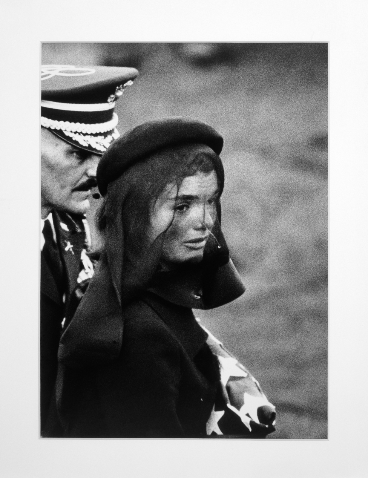 MCA – Collection: Elliott Erwitt, Jackie Kennedy at Funeral