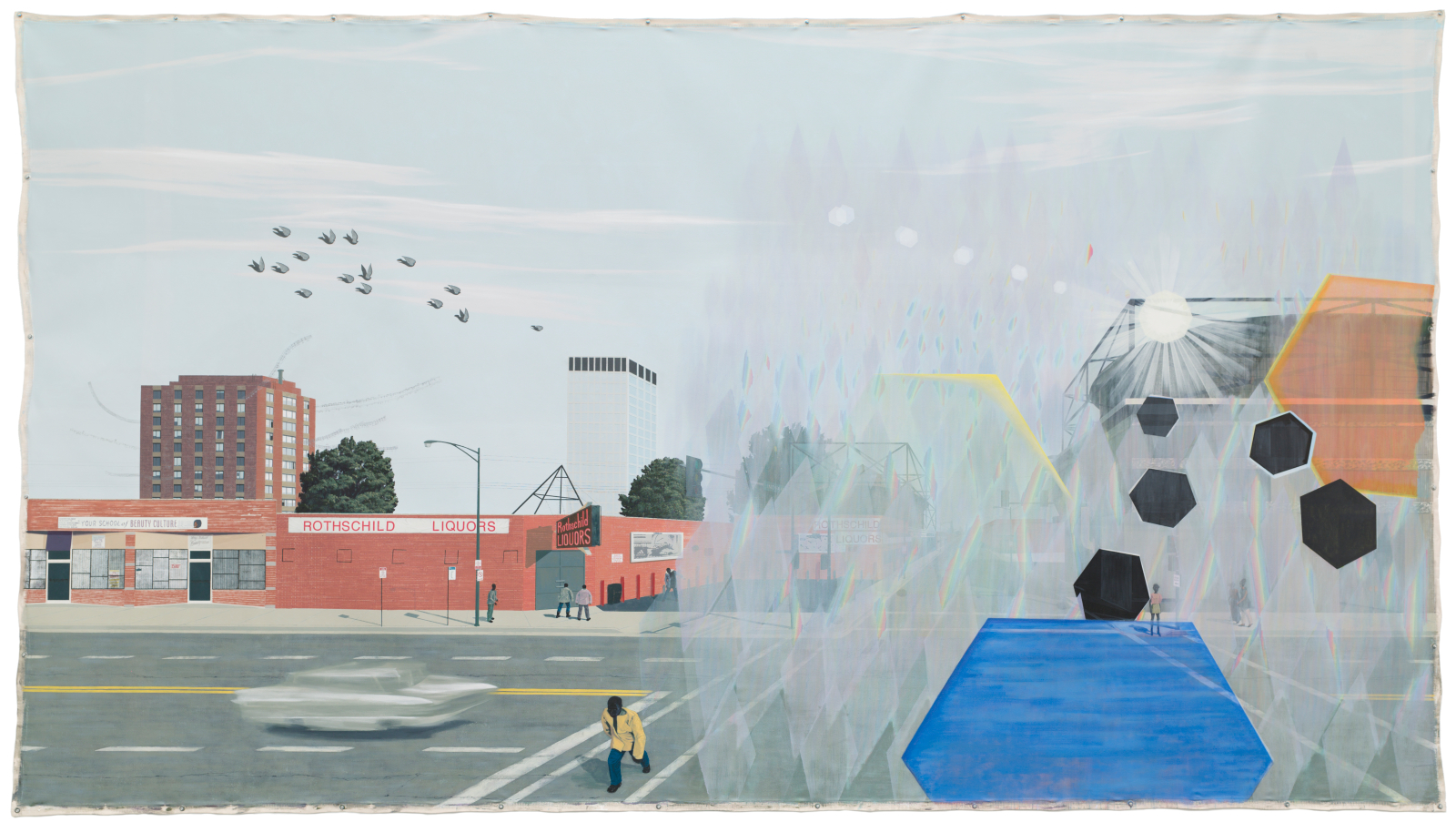 MCA – Collection: Kerry James Marshall, 7am Sunday Morning ...